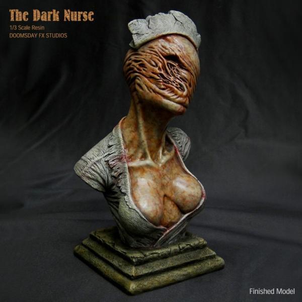 The Dark Nurse Bust 完成品|roswell-japan|05