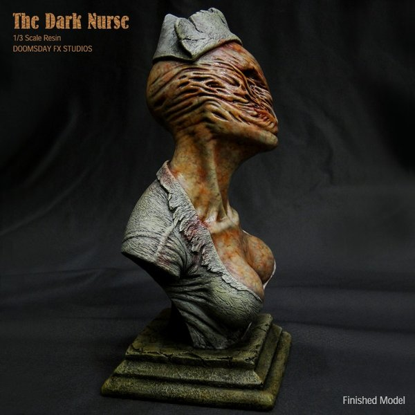 The Dark Nurse Bust 完成品|roswell-japan|06