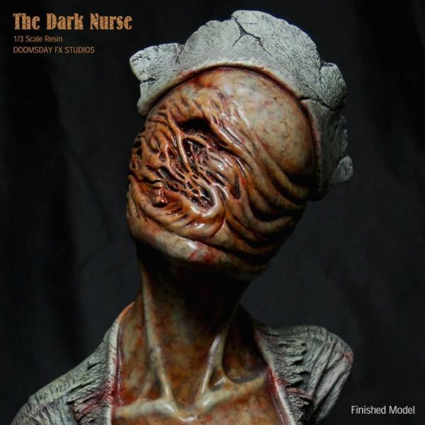 The Dark Nurse Bust 完成品|roswell-japan|07