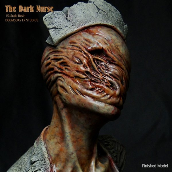 The Dark Nurse Bust 完成品|roswell-japan|08
