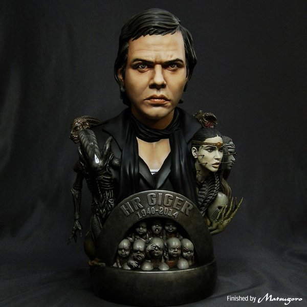 Giger Tribute Bust kit【入荷中】|roswell-japan