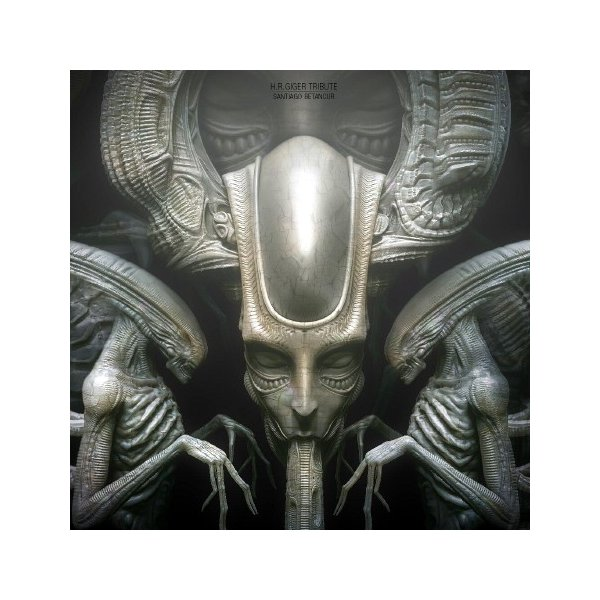 H.R. Giger Alien plaqueキット【入荷中】|roswell-japan