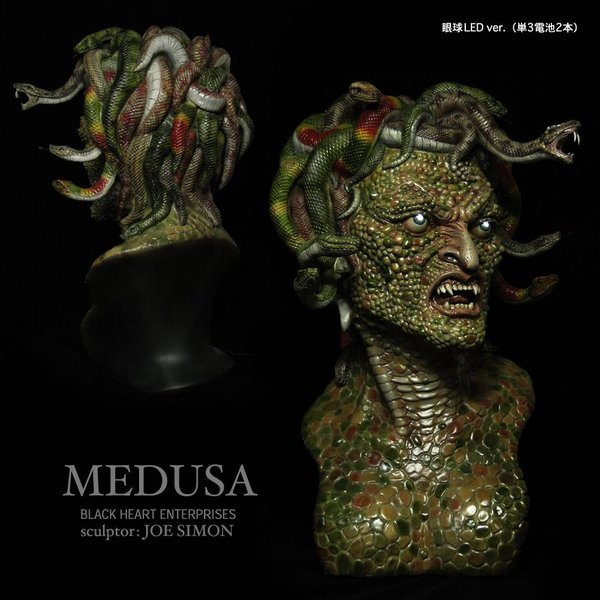 Medusa 1/1 scale 360° LED付き完成品|roswell-japan|04