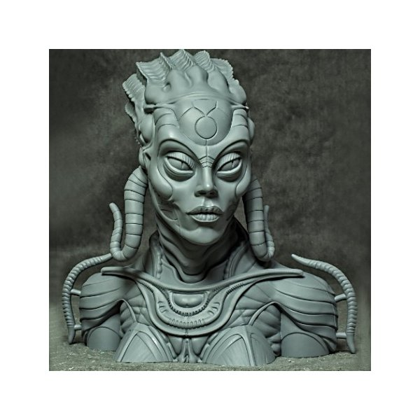 Sil 1/2scale Bust kit【取り寄せ】|roswell-japan