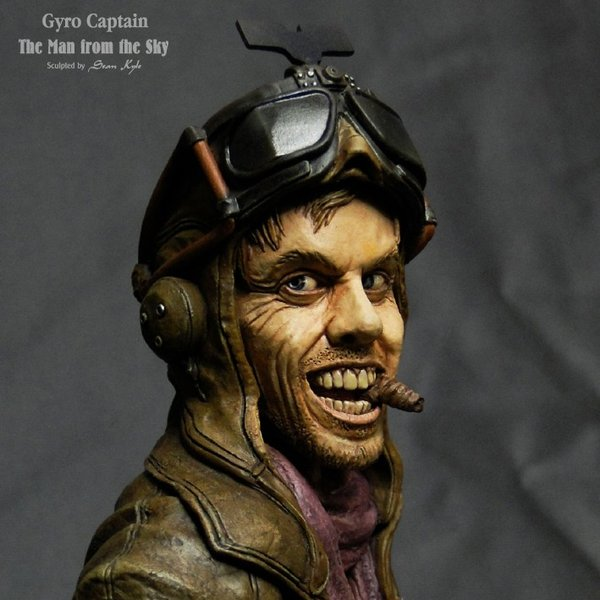 The Man from the Sky 1/4scale bust 完成品 roswell-japan