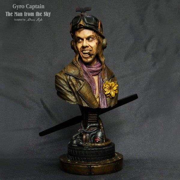The Man from the Sky 1/4scale bust 完成品 roswell-japan 02