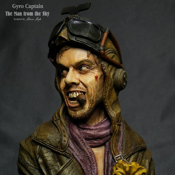 The Man from the Sky 1/4scale bust 完成品 roswell-japan 05