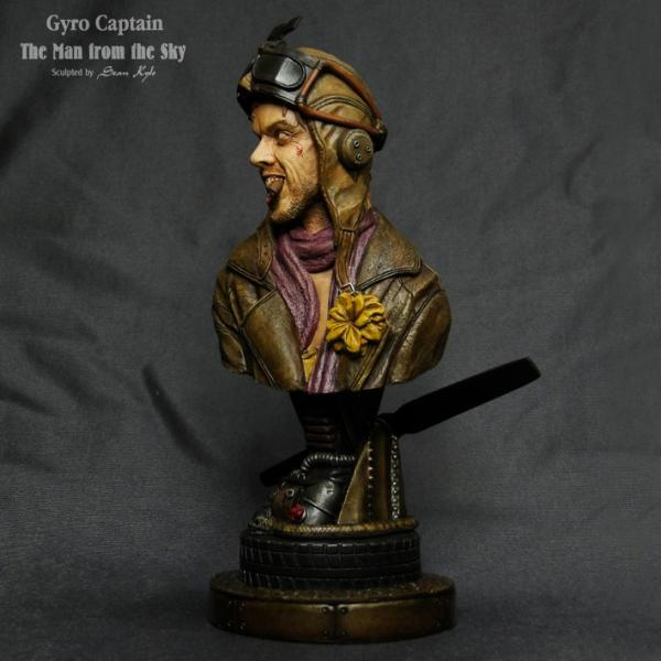 The Man from the Sky 1/4scale bust 完成品 roswell-japan 06