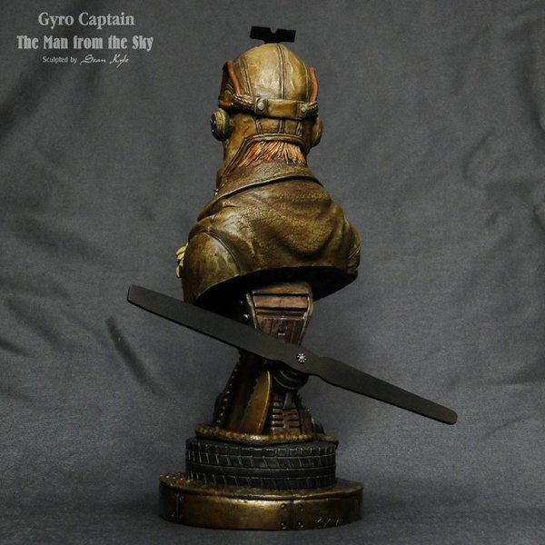 The Man from the Sky 1/4scale bust 完成品 roswell-japan 07