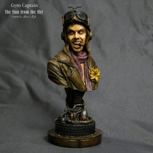 The Man from the Sky 1/4scale bust 完成品 roswell-japan 08