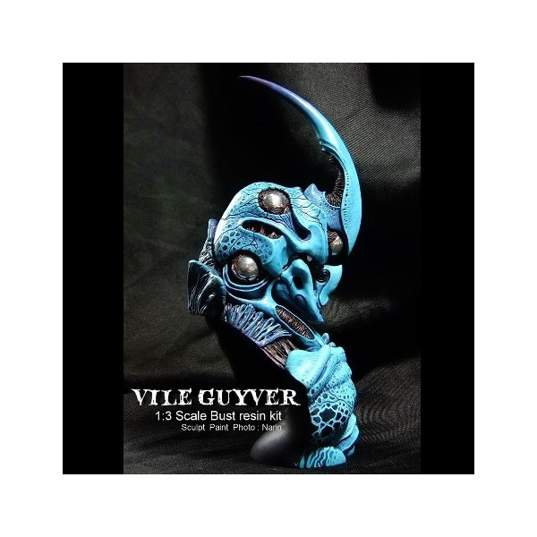 VILE GUYVER  1/3scale Bust  kit【入荷待ち】 roswell-japan 03