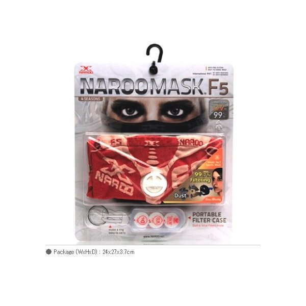 NAROO MASK F5 ナルー マスク コロナ 排気ガス、ホコリ、花粉、ウイルス、PM2.5 防塵 バイク 自転車 NM-F5|roughandroad-outlet|03