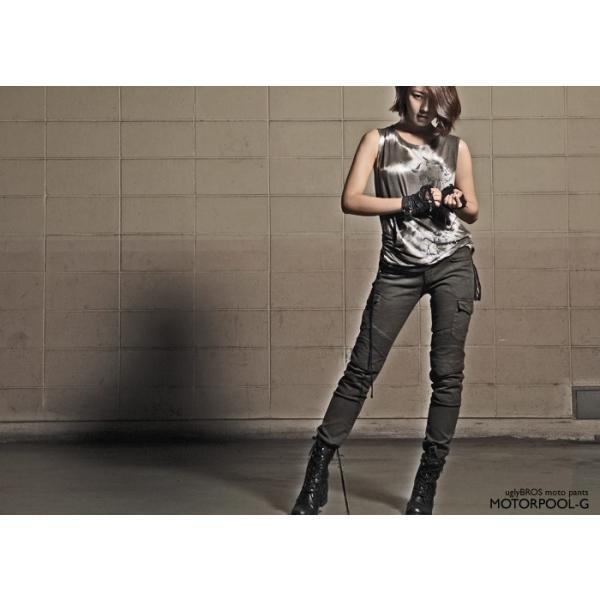 uglyBROS MOTOPANTS MOTORPOOL-G  UB1004 アグリブロス モトパンツ【Women's】|roughandroad-outlet|12