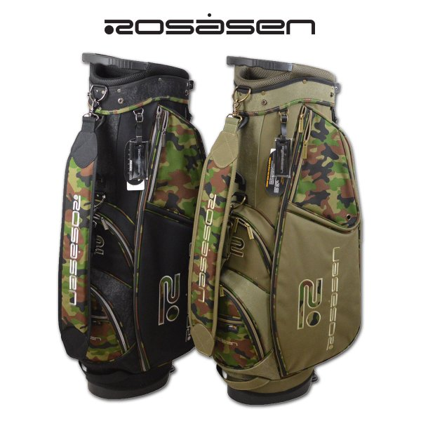 ロサーセン メンズ キャディバッグ スタンド ゴルフバッグ 9インチ ROSASEN 046-14201