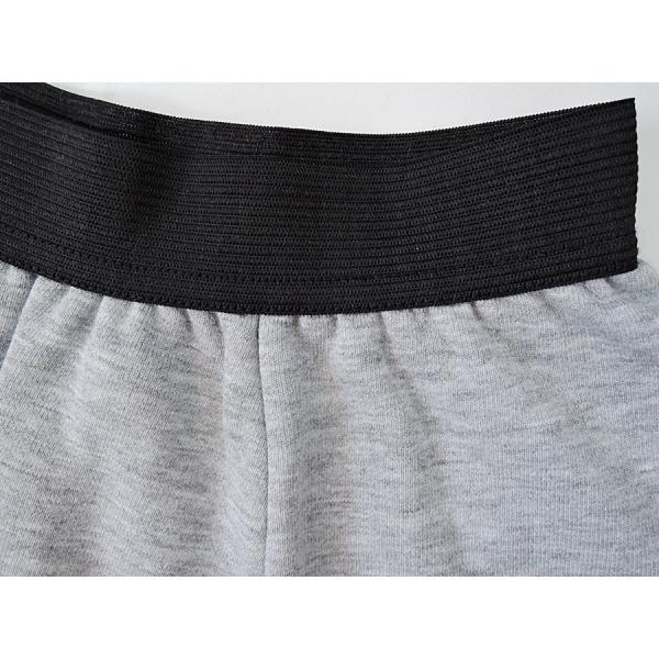 送料無料 スウェットスカート 綿100% 無地フレアースカート カジュアル rovel 06