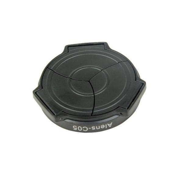 リコー GX100 GX200用 自動開閉 オートレンズキャップ (黒)