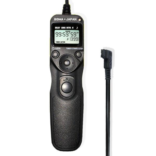プロ専用/LCD/タイマー機能付/撮影回数無制限/PDF日本語説明書あり SONY対応 RM-S1AM RM-L1AM/MINOLTA RC-1000S RC-1000L シャッターリモコン コード レリーズ