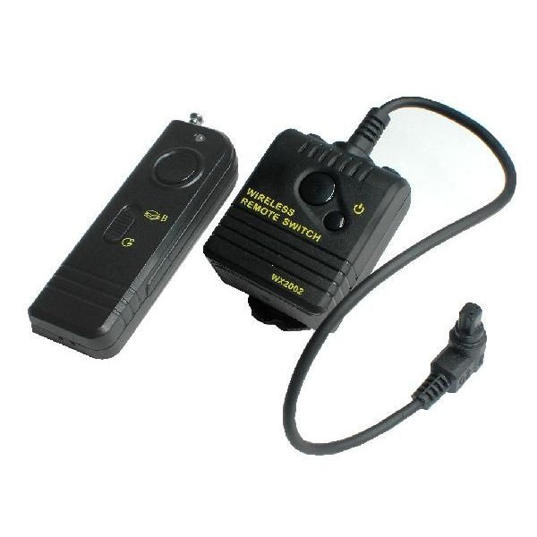 Canon キャノン RS-80N3 互換 ワイヤレス シャッターリモコン EOS 1V/1D/1DS/3 など対応 【ロワジャパン】