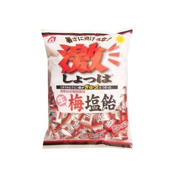 桃太郎製菓 1kg激しょっぱ生梅塩飴(約200粒)