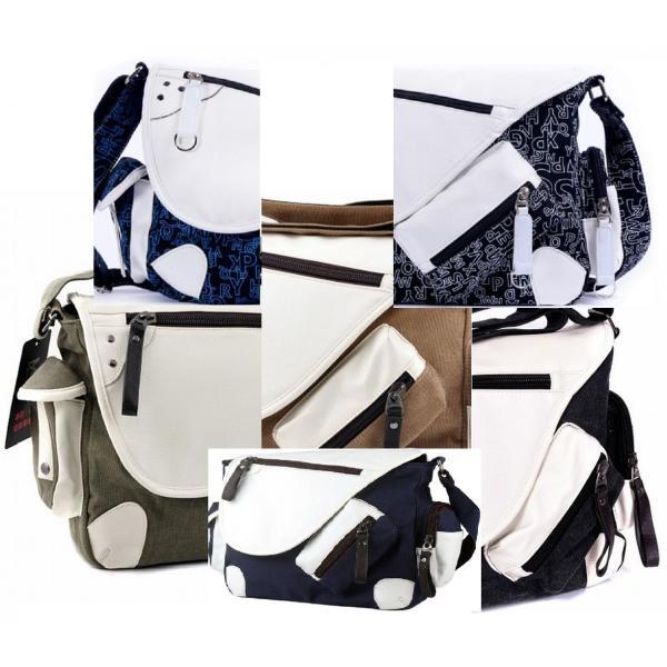 メッセンジャーバッグ 帆布 メンズ レディース ショルダー 鞄 選べる6色|royal-pine