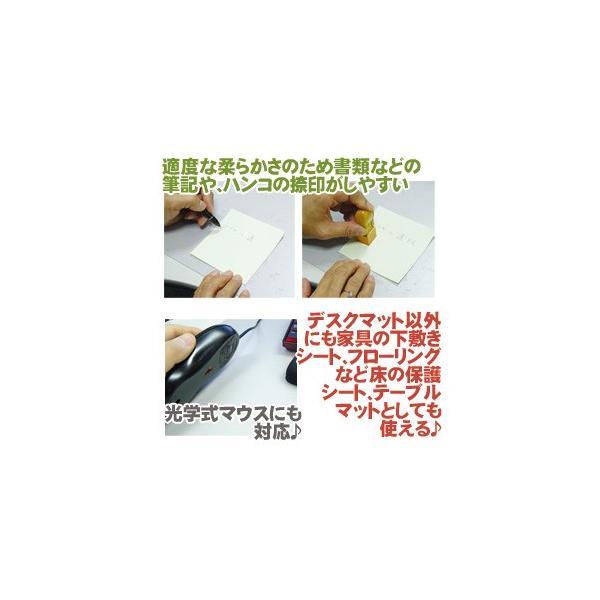 デスクマット 900×600 tsk | おしゃれ マット 傷防止 クリアー クリアデスクマット カット 床 デスクシート テーブルマット 床保護 フロアマット|royal3000|02