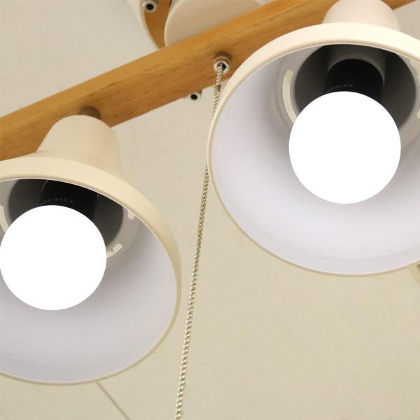 シーリングライト おしゃれ 調光 調色 ができる LED電球 4個と専用リモコン付き 4.5畳 6畳 4灯 天然木 honoka | 天井照明 リビング 寝室 ワンルーム 一人暮らし|royal3000|02