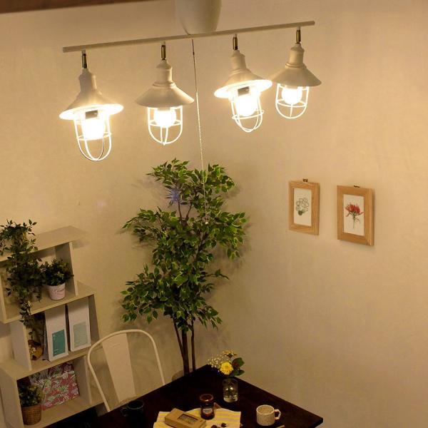 シーリングライト おしゃれ 調光 調色 ができる LED電球 4個と専用リモコン付き 4.5畳 6畳 4灯 ホワイト honoka | 天井照明 リビング ワンルーム 一人暮らし|royal3000|02