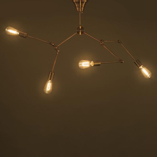 代金引換不可  スポットシーリングライト 4灯 ライト 照明 天井照明 リビング ダイニング ペンダントランプ アンティーク おしゃれ 階段 廊下 royal3000 02
