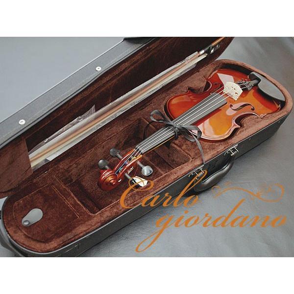カルロジョルダーノ Carlo giordano VS-1 4/4 バイオリンセット ヴァイオリン 初心者 入門
