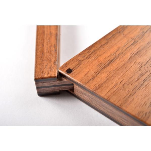 RoyalWood 天然木の名刺入れ ZIPPO型 ウォールナット|royalwood-meiboku|03