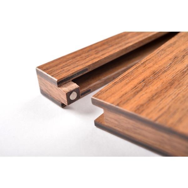 RoyalWood 天然木の名刺入れ ZIPPO型 ウォールナット|royalwood-meiboku|04