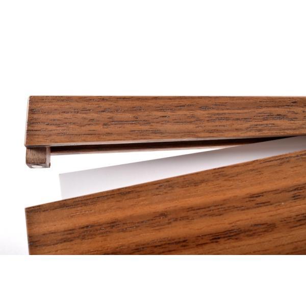 RoyalWood 天然木の名刺入れ ZIPPO型 ウォールナット|royalwood-meiboku|05