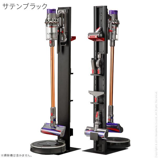 WALLクリーナースタンドV3 ロボット掃除機設置機能付き オプションツール収納棚板付き ダイソン dyson コードレス スティッククリーナースタンド|rrd|17