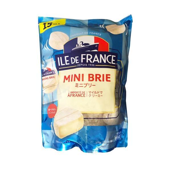 イル・ド・フランス ミニブリーチーズ 375g(15個入り)