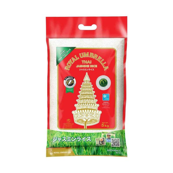 Thai Jasmine Rice タイ米 ジャスミンライス 5kg Buayai Rice