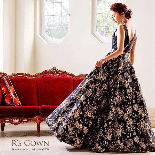 ロングドレス 演奏会 リサイタル 発表会 ピアノ ステージ 結婚式 声楽 舞台 大きいサイズ  パーティー FD-080265|rs-gown|08