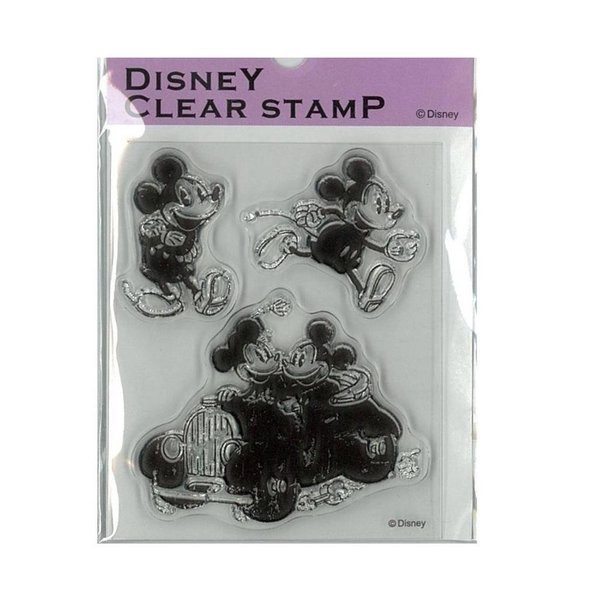 ★ Paper Intelligence Disney(ディズニー) クラシカルスタンプ ミッキー&ミニー2 STP-D0011 4101405