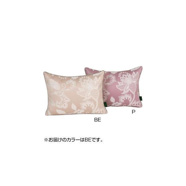 川島織物セルコン ミントン グレースハドン ピロークッションカバー 40×30cm LL1207 BE ベージュ
