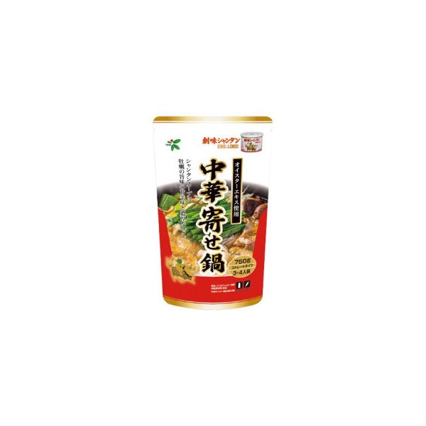 TOHO 桃宝食品 創味シャンタン中華寄せ鍋つゆ 750g×12個入り