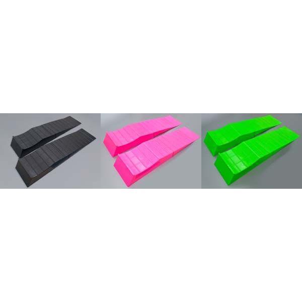 シャコタン ローダウン タイヤ スロープ 2個入り 軽量◆3色