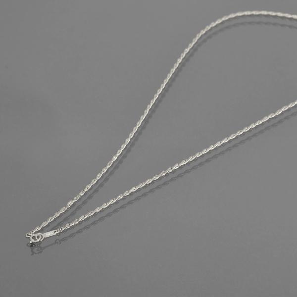 ネックレス チェーン PT850 プラチナ ナポリチェーン 幅2.2mm 長さ55cm 鎖 850pt 貴金属 ジュエリー レディース メンズ