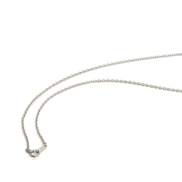 ネックレス チェーン 18金 ホワイトゴールド 小豆チェーン 幅1.3mm 長さ60cm|鎖 K18WG 18k 貴金属 ジュエリー レディース メンズ