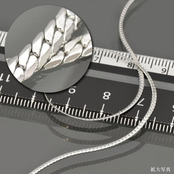 ネックレス チェーン サージカルステンレス 316L ヘリンボーンチェーン 幅1.4mm 長さ90cm 鎖 ステンレス アクセサリー レディース メンズ