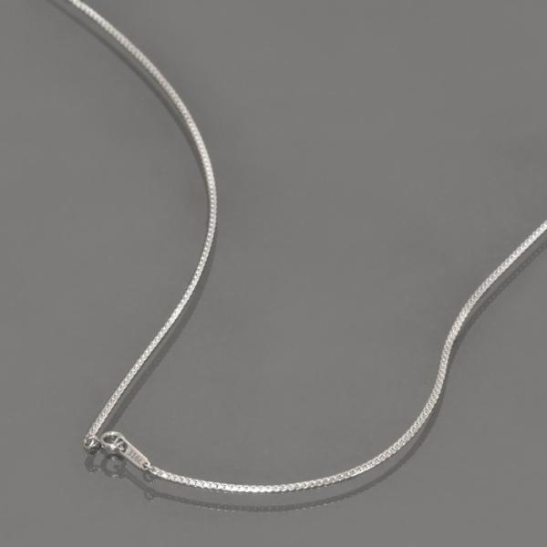 ネックレス チェーン サージカルステンレス 316L ヘリンボーンチェーン 幅1.7mm 長さ45cm|鎖 ステンレス アクセサリー レディース メンズ