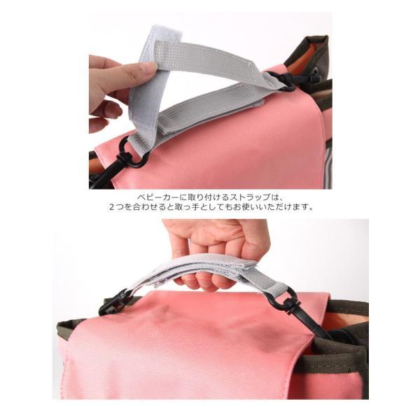 ベビーカー バッグ フック ポーチ オーガナイザー マルチポーチ 撥水 おむつ入れ おむつバッグ マザーズバッグ 鞄|ruckruck|05