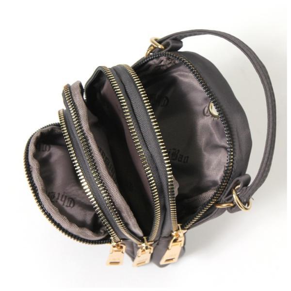 ポーチ レディース ミセス シニア 3ポケット バッグ かばん カバン サブバッグ ポシェット ミニポーチ ショルダーバッグ ハンドバッグ|ruckruck|08