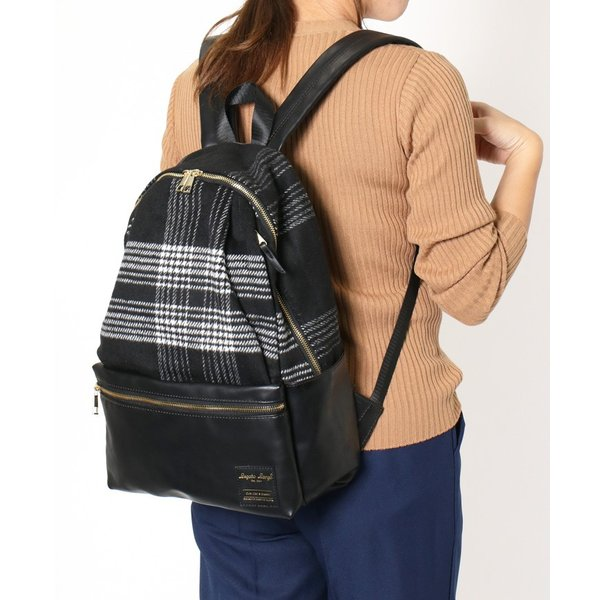 リュックサック レディース デイパック バックパック バッグ a4 通勤 通学 旅行 マザーズバッグ ママ 大容量 ブランド 背面ファスナー|ruckruck|10