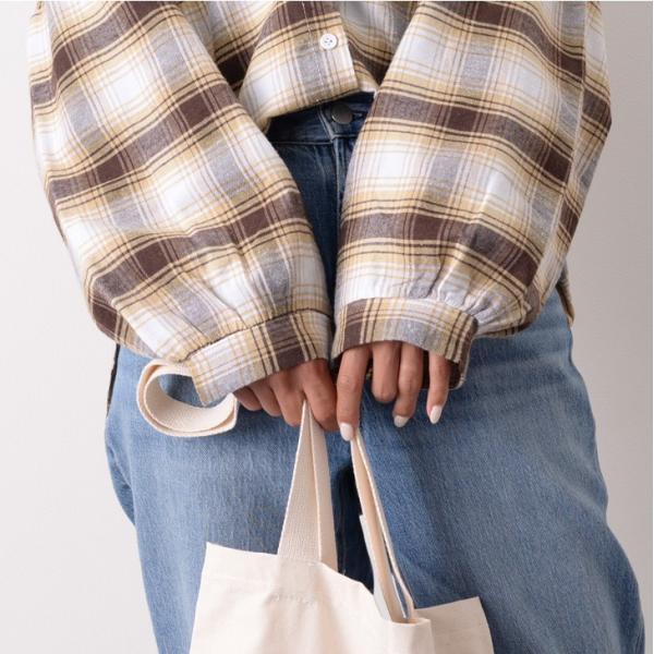 シャツ レディース トップス ブラウス 長袖 羽織り バルーンスリーブ ゆったり 大きめ カジュアル テールカット 秋冬|ruckruck|07