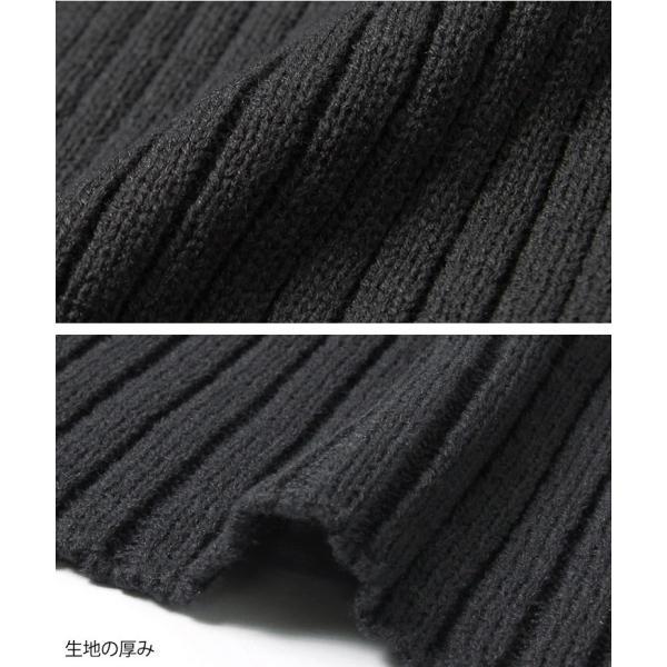 ベルト付きワイドスリーブリブニットカーディガン レディース アウター 羽織り 2001m|ruckruck|11