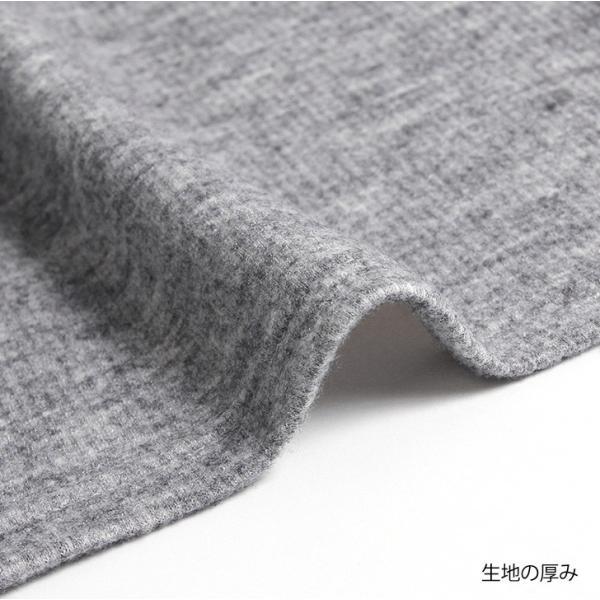 トップス レディース ニットソー ハイネック タートルネック 暖か やわらか 長袖 ワイドスリーブ ゆったり 大きめ 伸縮性|ruckruck|11